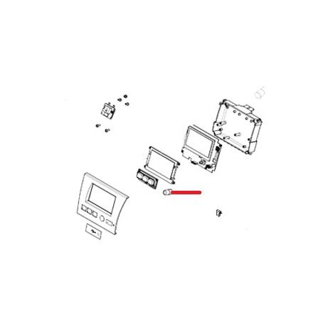 TOUCHES AFFICHEUR ORIGINE SIMONELLI - FQ7622