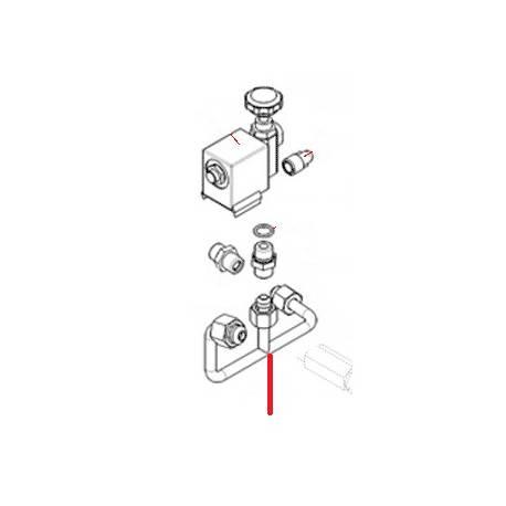 TUBE MIXEUR ORIGINE SIMONELLI - FQ7795