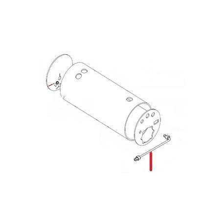 TUBE VAPEUR DROIT ORIGINE SIMONELLI - FQ7797