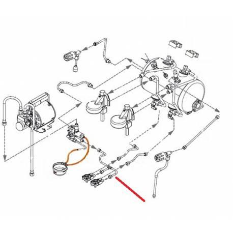 TUBE ALIMENTATION DEBITMETRE ORIGINE EXPOBAR - RKQ850