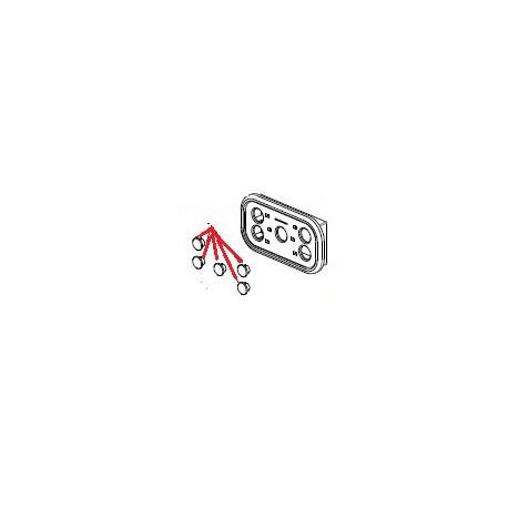 BOUTON CLAVIER ORIGINE SPAZIALE - FCQ6546