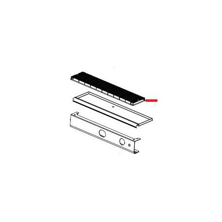 GRILLE POUR BASSINELLE S2 - 2GR ORIGINE SPAZIALE - FCQ6549