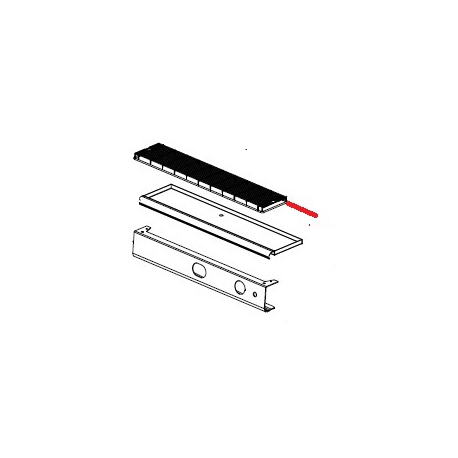 GRILLE BASSINELLE S2 - 1 GR ORIGINE SPAZIALE - FCQ6541