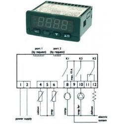 REGULATEUR EVCO K203N7EXBSX01 230V POUR ARMOIRE - BQQ6575