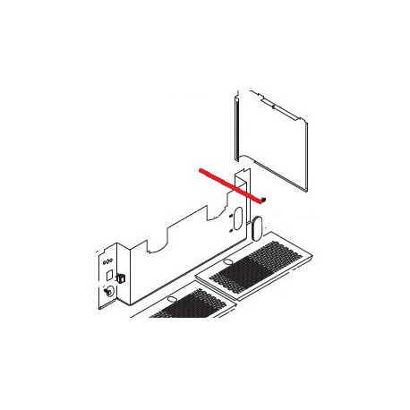 CAPUCHON LED Ø8.5MM PLASTIQUE NOIR ORIGINE ASTORIA - NFQ60931556