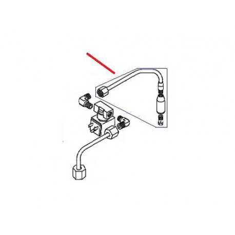 TUBE EAU CHAUDE COMPLET 2GR SA11 ORIGINE ASTORIA - NFQ01664534