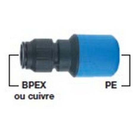 COUPLEUR PE CUIVRE OU BPEX PE25XCU15 ORIGINE - ETC09