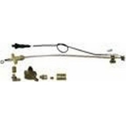 KIT EQUIPEMENT GAZ UNIVERSEL AVEC PIEZZO+BOUGIE +CABLE+SUPPO