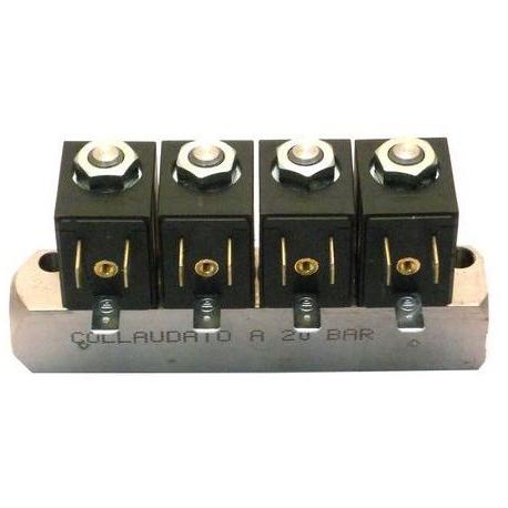 BLOC-4-ELECTROVANNE DC ORIGINE SAECO - FRQ8063