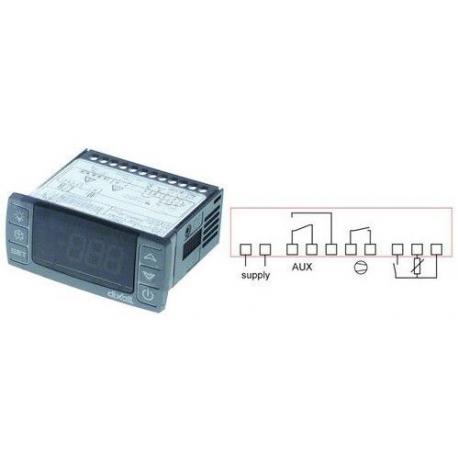TIQ61167-REGULATEUR DIXELL XR30CX-5N0C1 NTC 10KOHM