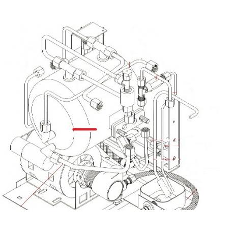 CHAUDIERE 5L MAC2000 1GR ORIGINE SIMONELLI - FQ6329
