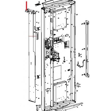 COMPTEUR IMPULSIONS KEISU GX-06R 24V ORIGINE SAECO - FRQ8750