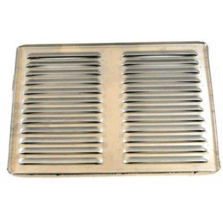 PQ186-GRANDE GRILLE ECOULEMENT 2GR