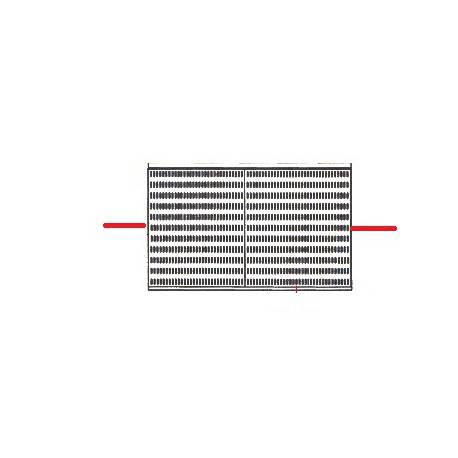 GRILLE CHAUFFE TASSE 3 GROUPES ORIGINE UNIC - HQ373