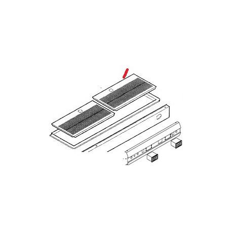 PANNEAU FRONTAL INOX LISA 2GR ORIGINE ASTORIA - NFQ25255776