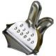 PINCE 1/4 CITRON CHROMEE ORIGINE TELLIER - GRQ6081