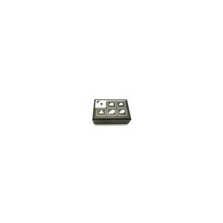 CLAVIER CLAVIER GICAR 9.9.13.96G CAFE/EAU LED BLEUES - HQ6897