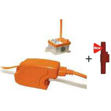 POMPE DE RELEVAGE MAXI ORANGE 230V AVEC 2 RESERVOIRS - SEQ190