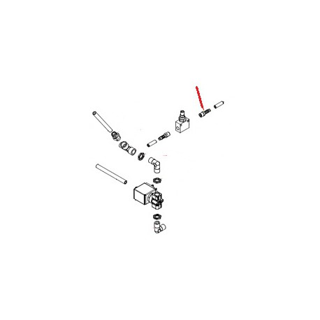 RACCORD 1/8MXD6 ORIGINE SIMONELLI - FQ7800