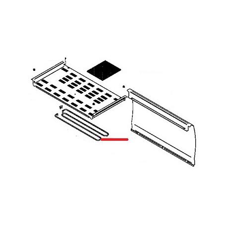 RESISTANCE CHAUFFE TASSE 150W 230V - FQ6434