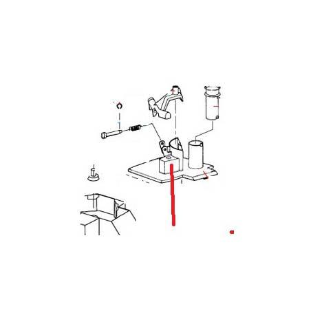 FREIN D'AXE R301U (N) ORIGINE ROBOT COUPE - EBOB8884