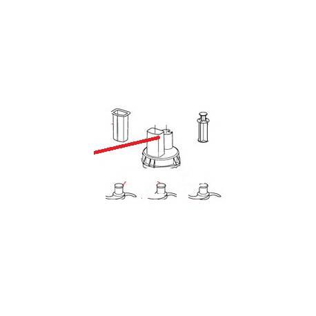 POUSSOIR CAROT R201 G-CL ORIGINE ROBOT COUPE - EBOB7119