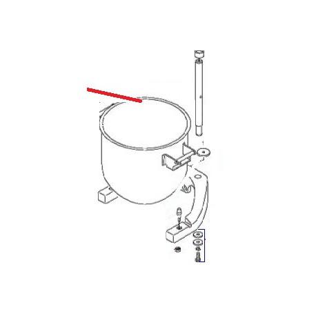 BERCEAU EQ BM30 ORIGINE DITO SAMA-ELECTROLUX - QFQ5H5002