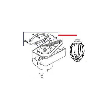 BRAS LIAISON EQUIPE BM20/30 ORIGINE DITO SAMA-ELECTROLUX - QFQ5Q5621