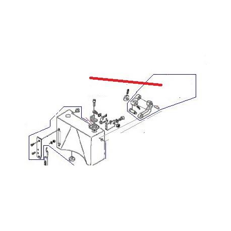 BUTEE SOUPLE BM20 ORIGINE DITO SAMA-ELECTROLUX - QFQ5H5080
