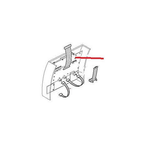CABLE PLAT VAPEUR AUTOMATIQUE ORIGINE CIMBALI - PQ6175