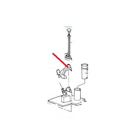 POUSSOIR LEGUME R301U (N) ORIGINE ROBOT COUPE - EBOB7852