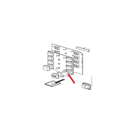 CARTE TOUCHE SELECTION M2 PROG ORIGINE CIMBALI - PQ6368