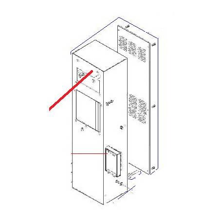COLONNE RAL1013 EQ BM20 ORIGINE DITO SAMA-ELECTROLUX - QFQ5H5250