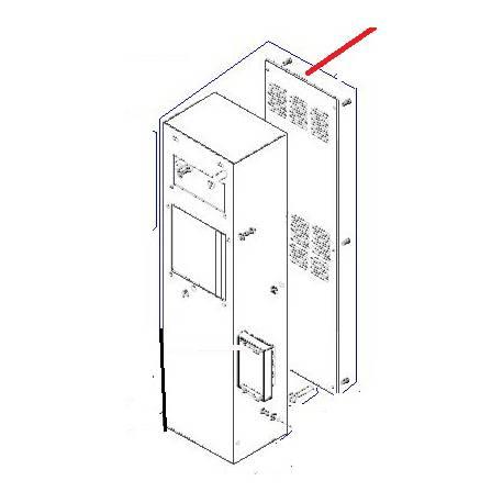 COLONNE RAL1013 EQ BM30 ORIGINE DITO SAMA-ELECTROLUX - QFQ5Q7060