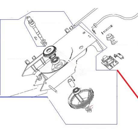 CORPS EQUIPE TRS ORIGINE DITO SAMA-ELECTROLUX - QFQ5H5801