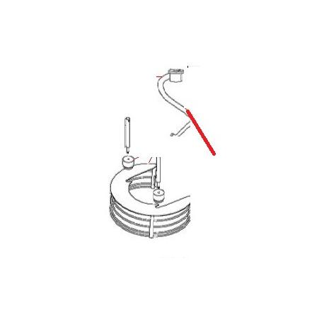 CROCHET POUR BATTEUR BM30 ORIGINE DITO SAMA-ELECTROLUX - QFQ108616
