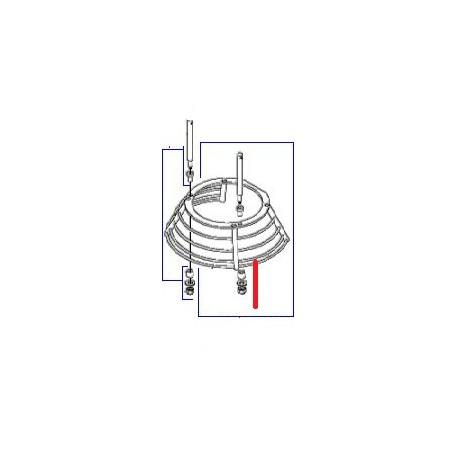 ECRAN FIL BILLE BM20 ORIGINE DITO SAMA-ELECTROLUX - QFQ5Q1648