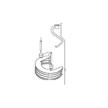 GUIDE NM BM20 ORIGINE DITO SAMA-ELECTROLUX - QFQ5XD073