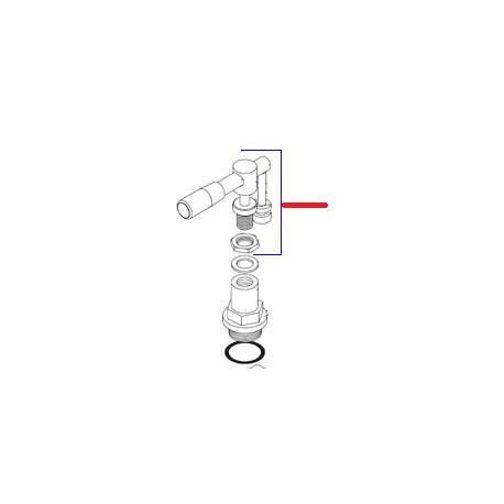 KIT MANETTE REGLAGE VENUS ORIGINE SIMONELLI - FQ6217