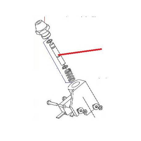 MICRORUPTEUR SECU POSITIVE ORIGINE DITO SAMA-ELECTROLUX - QFQ5XD854