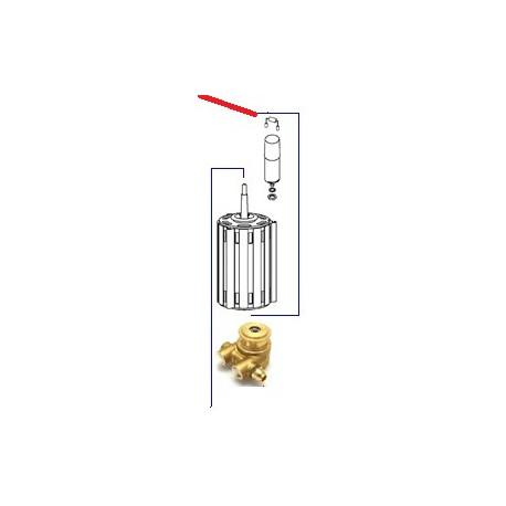 MOTEUR MOULIN ET POMPE 220V ORIGINE CIMBALI - PQ7508