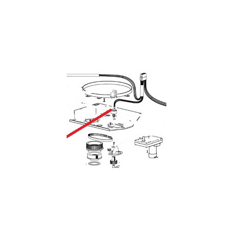 POULIE CRANTEE ORIGINE CIMBALI - PQ7519