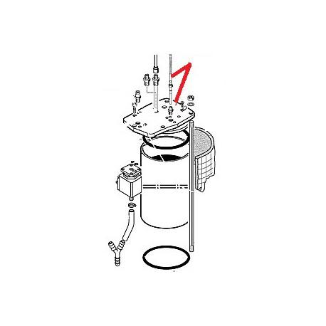 SONDE TEMPERATURE AVEC CABLE ORIGINE CIMBALI - PQ6325