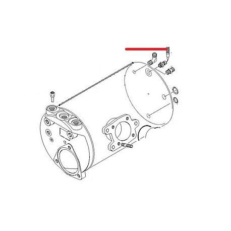 THERMOCOUPLE AVEC CABLE ORIGINE CIMBALI - PQ6387