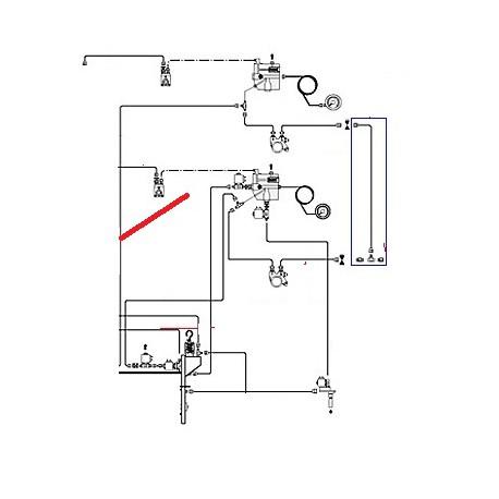 TUBE ALIMENTATION BOILER CAFE ORIGINE CIMBALI - PQ6451