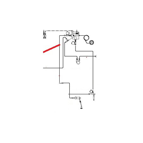 TUBE CHARGE BOILER SERVICE ORIGINE CIMBALI - PQ6454