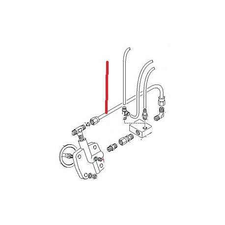 TUBE CHAUDIERE BLOC EV ORIGINE CIMBALI - PQ6388