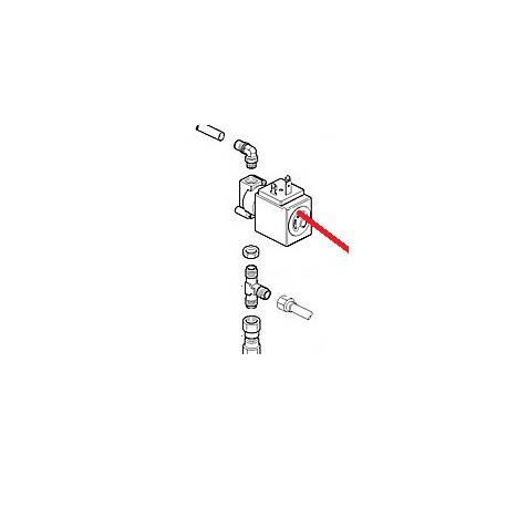 TUBE CHAUDIERE/ELECTROVANNE ORIGINE CIMBALI - PQ6156