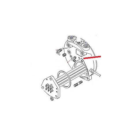 TUBE CHAUDIERE-ELECTROVANNE ORIGINE CIMBALI - PQ6364
