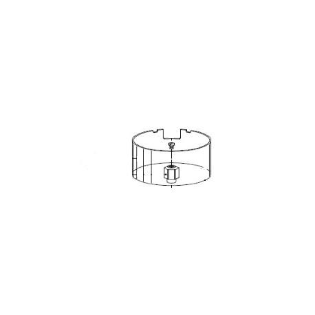 CYLINDRE Ø 120MM H 68MM PLEXIGLAS ORIGINE MAZZER - zeq678